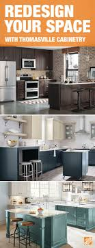 home depot kitchen cabinets brands combine style and function with thomasville cabinets for