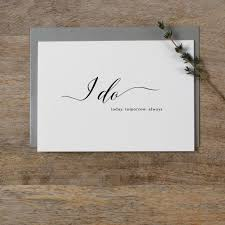 wedding card to groom from i do wedding card to groom or by kismet weddings