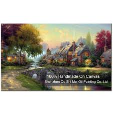 Home Decoration Paintings Online Buy Wholesale Country Scenery Paintings From China Country