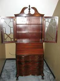 tall secretary desk with hutch 24 best desk images on pinterest secretary desks antique brilliant