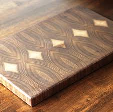 Cutting Board With Trays by End Grain Walnut Cutting Board Butcher Block Serving Tray