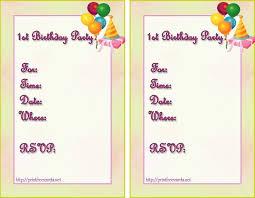 birthday invite template 12 birthday invitation templates template