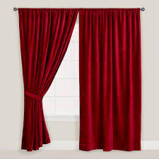 Grey Red Curtains Interior Luxury Velvet Curtains To Adorn Your Windows U2014 Nadabike Com