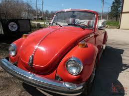 1979 vw volkswagen beetle convertible volkswagen super beetle base convertible 2 door 1 6l original