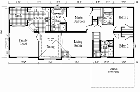 ranch house plans with open floor plan ranch floor plans with walkout basement best of open floor ranch