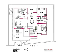 Kerala Home Design Floor Plan And Elevation by 2800 Square Feet 4 Attached Bedroom Kerala Home Design And