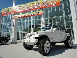 Used 24 Inch Rims Purchase Used 2007 Custom Jeep Wrangler 4 Door Lifted 24inch Rims