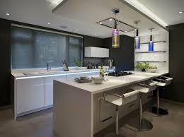 eclairage bar cuisine 73 idées de cuisine moderne avec îlot bar ou table à manger