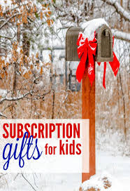 mail order christmas gifts 5 unique subscription gifts for kids happy homeschool nest