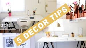 Home Decor Tips 5 Decorating Tips For Transforming Any Space With Mr Kate Home