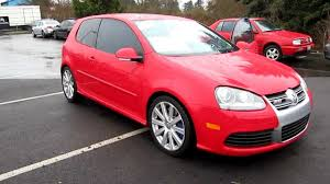 red volkswagen golf 2008 volkswagen golf r32 red stock j18536a walk around youtube