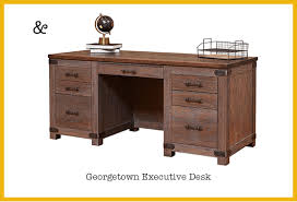 saratoga executive collection manager s desk staff picks for our vp s new desk timber to table