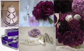 Purple And Silver Wedding Wedding Ideas Fall Color Combo Ideas For Your Wedding