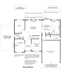 Georgian Floor Plan by The Estates At Cedarday The Ellsworth Ii Home Design