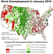 Michigan Map With Counties by Rural Unemployment Soars In January Daily Yonder
