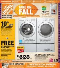 home depot black friday microwave home depot weekly specials october 12 15 2014 fall sale
