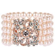 pearl bracelet elastic images Babeyond 1920s flapper bracelet art deco pearl jpg