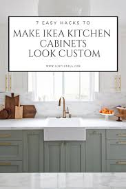 how to make the inside of cabinets look 7 easy ways to make ikea kitchens look custom lost luxe