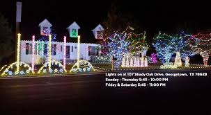 shady oak christmas display georgetown tx home facebook