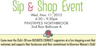 sip and shop invitation glenview women u0027s club page 3 of 6