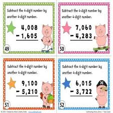 96 best math addition and subtraction with regrouping images on