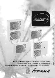 компрессорно конденсаторный агрегат tecumseh silensys silag4546ztz