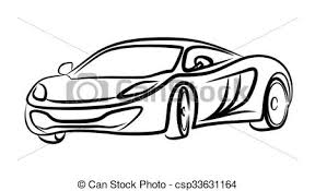 si e auto sport black skizze auto sport auto skizze mächtig sport clipart vektor
