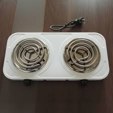 2 Burner Cooktop Electric Brentwood Ts372 Electric 1440w Double Plate 24 Inch Wide