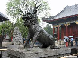 qilin statue the stenzels