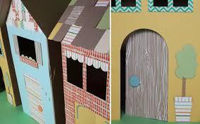 Decorate Cardboard Box Make A Playhouse From Cardboard Sierra Club
