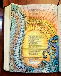 The Original Challenge Psalms 42 7 The Original Bible Journaling Challenges Series 20