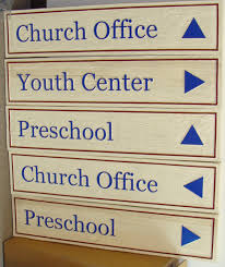Interior Signs Trail Church And Religious Signs U0026 Plaques