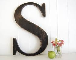 Letters For Wall Awesome Big Letter Wall Decor Extra