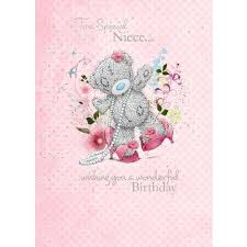 birthday cards for niece niece birthday card me to you happy birthday greeting cards