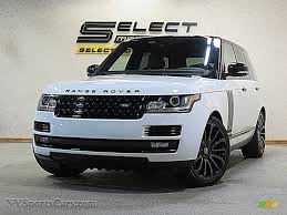 range rover white 2017 2017 land rover range rover supercharged in fuji white 320847