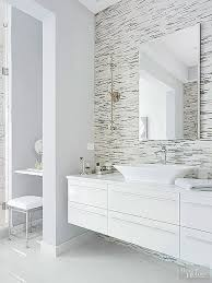 White Bathroom Ideas Pinterest by 25 Best Modern White Bathroom Images On Pinterest Room Bathroom
