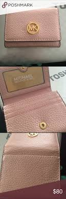 light pink michael kors wallet michael kors small wallet light pink brand new never used holds 4