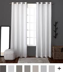 Window Curtains Exclusive Home Curtains Loha Linen Window Curtains