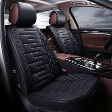 housse siege cing car nouveau luxe pu en cuir auto universel de voiture housse de siège