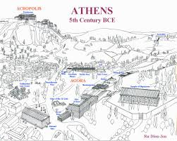 Athens Map The Golden Age Of Athens Golden Age Athens And Middle