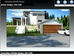 hillside home plans small hillside home plans 3 bedroom 2 bathroom modern home plan