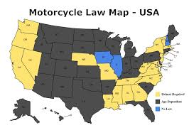 Floridas Map by Florida U0027s Helmet Law Could Soon Be Reinstated Flbikers