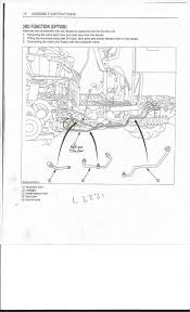kubota l3240 3rd funtion valve assembly instructions don u0027t match
