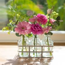 next day flowers tickled pink vintage style flower bottles next day flower delivery