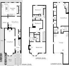 house floor plans for sale design san francisco row house floor plans 13 the