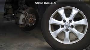 toyota car information toyota camry tires general information and specs youtube