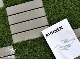ikea runnen hack review ikea runnen decking light grey artificial grass how to