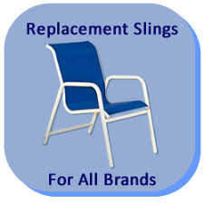 Patio Chair Replacement Slings Replacement Slings And Parts For Patio Furniture