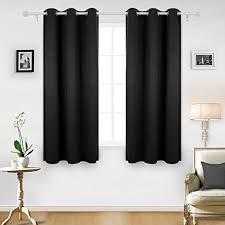 Draperies For Living Room Amazon Com Deconovo Room Darkening Thermal Insulated Blackout