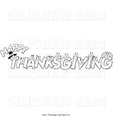 thanksgiving clip art borders free happy thanksgiving banner clip art black and white clipartsgram com